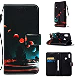 Lomogo Leather Wallet Case for Xiaomi Redmi Note 7/Note 7Pro/Note 7S with Stand Feature Card Holder Magnetic Closure, Shockproof Flip Case Cover for Xiaomi Redmi Note7 Pro - LOYBO450504 L4