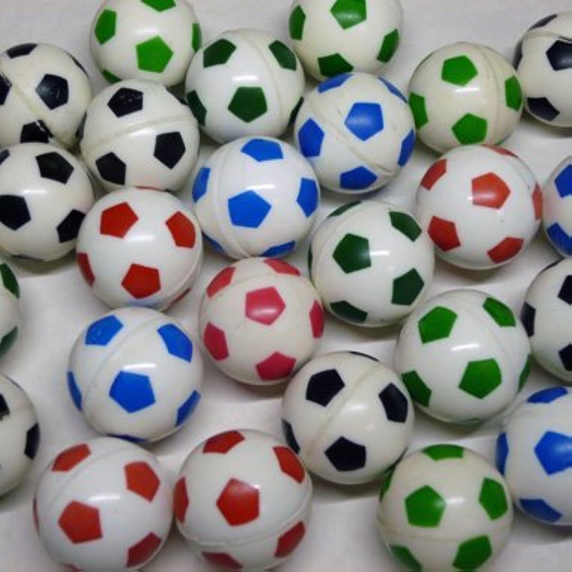 メロンサンダース海峡サッカー グラシアス サッカーボール型 カラフルスーパーボール 4個セット
