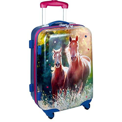 Die Spiegelburg 14184 Hartschalentrolley I Love Horses Pferdefreunde