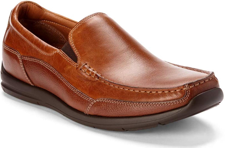 Vionic Vionic Vionic Mans Astor Preston Slip -on Loafer - Dress or Casual - läder Loafer s for män with Convaled Orthotic Support  varumärke