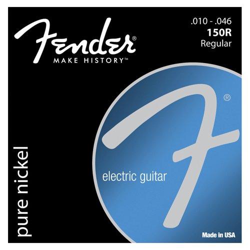 150R Fender níquel puro herida cadena Set para Guitarra