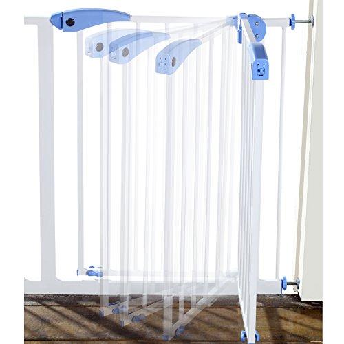 Yorbay Barrière de sécurité Enfant Extensible de 75cm à 175cm - 15 Versions...