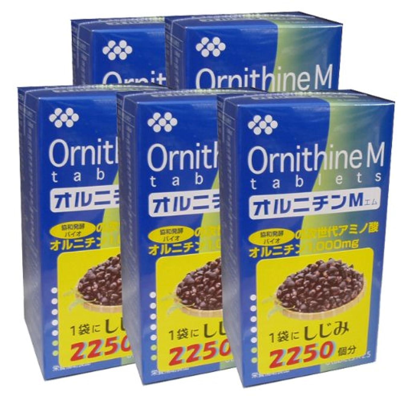 冒険調停するハーブ協和発酵オルニチンM (6粒×25袋)×5個セット