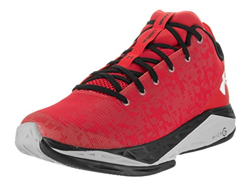 Under Armour Men's Fire Shot Red Basketball Shoes 9.5