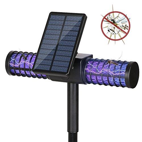 Lámpara anti mosquitos , Homecube Lámpara Solar Mata...