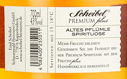 Scheibel Premium Plus Altes Pflümle (1 x 0.7 l) - 3