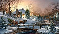 Heading Home Christmas by Terry Redlin