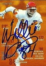 Autograph Warehouse 73697 Willie Davis Autographed Football Card Kansas City Chiefs 1995 Fleer No 179