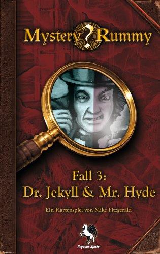 Pegasus Spiele 17852G - Mystery Rummy Jekyll & Hyde