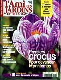 AMI DES JARDINS ET DE LA MAISON (L') [No 894] du 01/01/2002 - 1ERS CROCUS - LES SAISONS D'UN POTAGER FLEURI - LES BONS PLANS COUPE-VENT - DES BORDURES A DRESSER SUR LE CHAMP - COMMENT BIEN CHOISIR SA MOTOBINEUSE