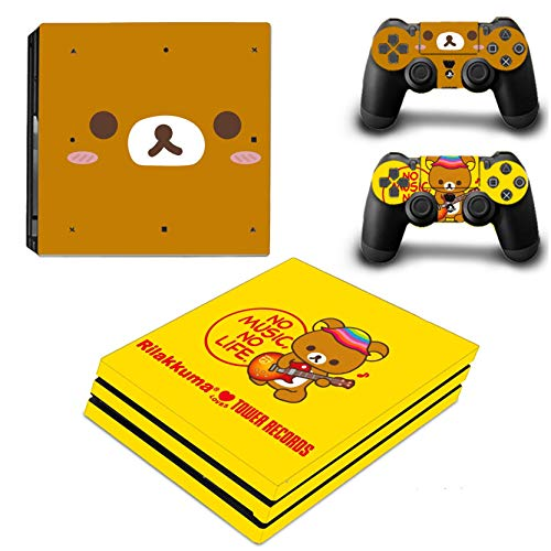 TAOSENG PS4 Pro Skin Stickers Decal for PlayStation 4 Console and Controllers PS4 Pro Skin Sticker Vinyl