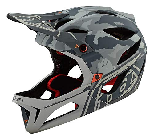 Troy Lee Designs Adult Downhill Enduro Mountain Bike Full face Stage MIPS Tactical Helmet (Sand, X-Small/Small)