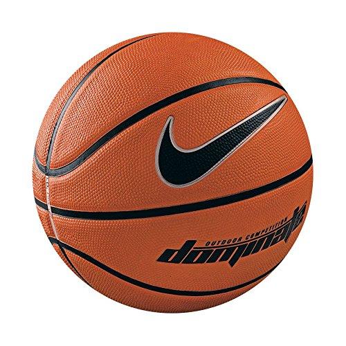 Nike Dominate Balón de Baloncesto, Unisex adulto, Naranja / Negro, 7