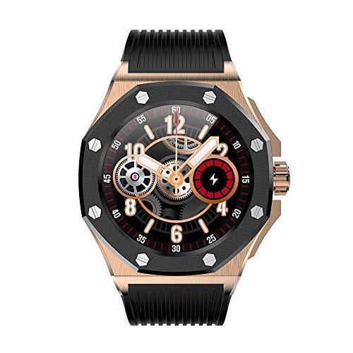 WuMei101 Smart Watch Fitness Tracker, reloj de deportes de pantalla táctil completa de 1.3 pulgadas con monitor de frecuencia cardíaca, rastreador de actividades con monitor de sueño, reloj de podómet