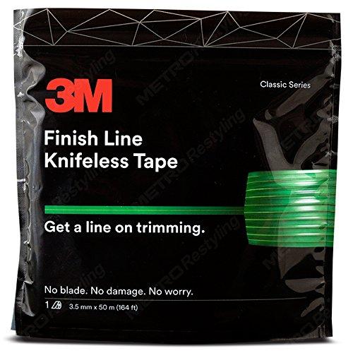 Knifeless Finish Line Vinyl Wrap Schneiden Klebeband 50meter Rolle (164ft) für Streifen und mehr
