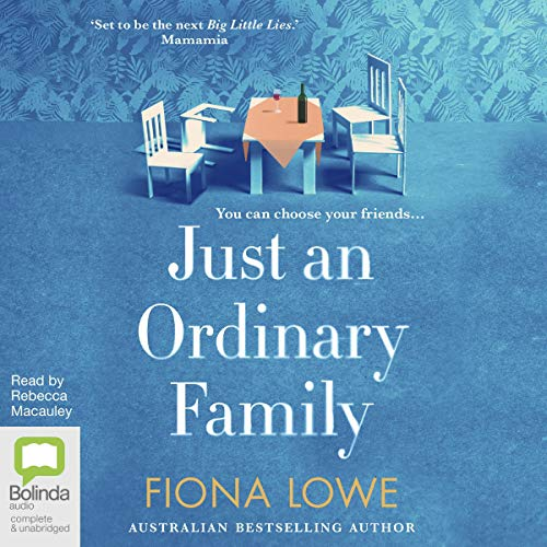 Just an Ordinary Family audiobook cover art