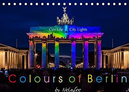 Colours of Berlin (Tischkalender 2022...