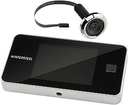Intersteel Digitale Deurcamera Pro DDV 3.0, Kunststof, Zwart