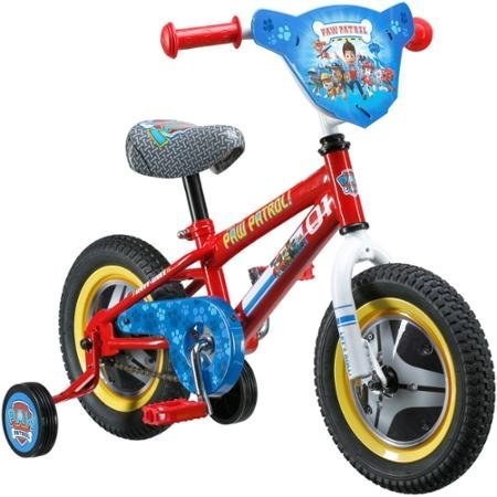 12 Paw Patrol Kids Bike | Coordinated Seat | Graphics and Wheel Covers