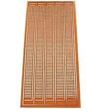 Raitron 8.5x20cm DIY PCB Prototype Gedrukt Circuit Board Stripboard Eenzijdig
