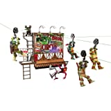 Teenage Mutant Ninja Turtles Z-Line Billboard Breakout Playset