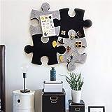 Bacheca in feltro e in sughero, bacheca da parete, a forma di cuore esagonale, autoadesiva, per conservare foto, memo, disegni, obiettivi, decorazione da parete. A