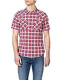 Lee Western Camisa, Aurora Red, L para Hombre