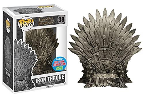 Funko - Figurine Game of Thrones - Iron Throne NYCC 2015 Pop 15cm - 0849803063931