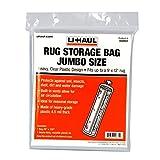 "U-Haul Jumbo Rug Storage Bag (Fits Rugs up to 9' x 12') - Protection for Jumbo Rolled Rug - 26"" x 130"""