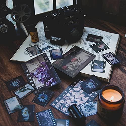 30 Stück Aufkleber Set Film Film Journal Aufkleber für Planer DIY dekorative Aufkleber für Scrapbook Journaling Tagebuch Buch Planer