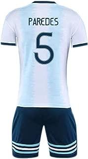 Leandro Paredes #5 La Selección De Fútbol De Argentina Men's Soccer Jersey -Breathable, Quick Drying