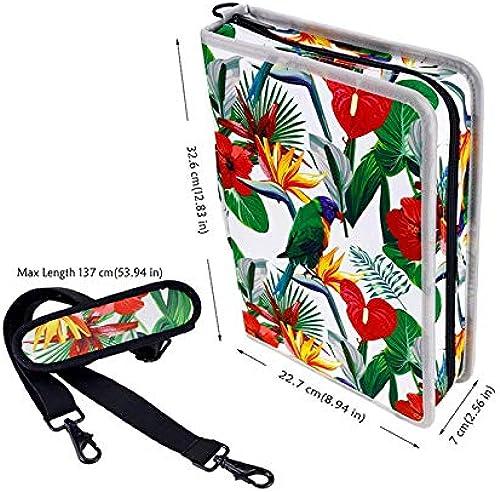 buen precio ASCZFAS bolsa bolsa bolsa de lápiz Creative Floral 160 Slot Oxford Cloth School Lápices Estuche Lápiz de gran capacidad para lápices de Colors Caja de lápices de gel Suministros de arte Flor pájaro  la calidad primero los consumidores primero