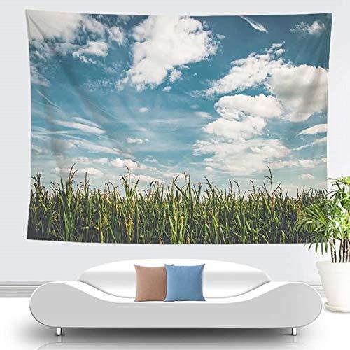 Amody Tapisserie Wandbehang Wandteppich Natur Landschaft Wandtuch Tapestry als Dekotuch/Tagesdecke Stil 1 150x200CM Wandtuch Wohnzimmer
