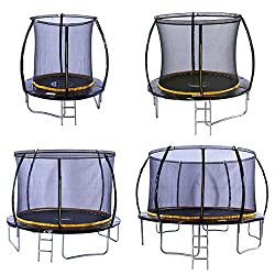 Here it is, the very latest 2019 Kanga 6ft Trampoline with Enclosure package which includes the safety net enclosure, ladder and FREE anchor kit worth £25 This Kanga trampoline is made from high quality materials and meets all EU safety regulations s...