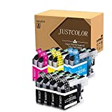 JUSTCOLOR Compatible Ink Cartridge Replacement for Brother LC 203XL LC 203 XL use with MFC-J480DW MFC-J880DW MFC-J4420DW MFC-J680DW MFC-J885DW Printer (4 Black, 2 Cyan, 2 Magenta, 2 Yellow, 10 Pack)