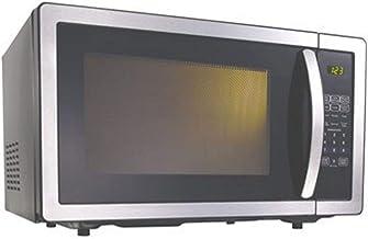 Kenwood - Microondas (900 W, 25 L, con controles táctiles), color negro y acero inoxidable