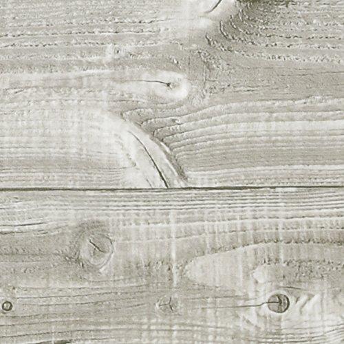 Klebefolie Perfect Fix® Bretter Taupe, Holzfolie, Dekofolie, Möbelfolie, Tapeten, selbstklebende Folie, ohne Phthalate, keine Luftblasen, Natur-Holzoptik, 45cm x 2m, Stärke: 0,15 mm, Venilia 53340