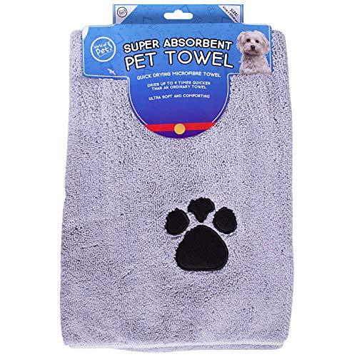 World of pets super saugfähige micofibre pet handtücher für Hunde im 2er-Pack