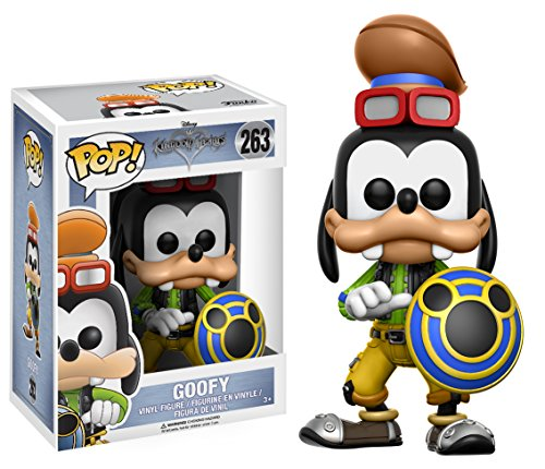 Funko POP Disney: Kingdom Hearts Goofy Toy Figures,Multicolor,3.75 inches