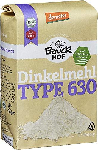 Bauckhof Bio Bauck Dinkelmehl hell Type 630 (2 x 1000 gr)