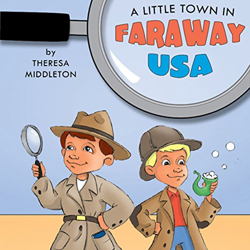 A Little Town in Faraway USA audiobook cover art