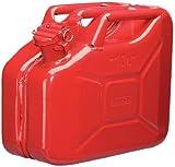 Draper 49953 - Bidón de Acero (10 L), Color Rojo