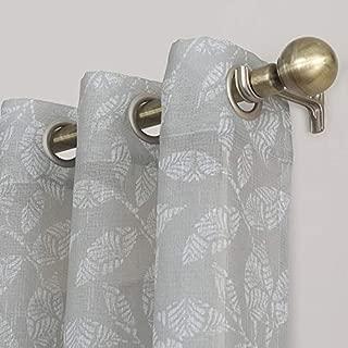 sonoma Goods for Life 1-Panel Ayden Sayer Leaf Linen Blend Window Curtain 52X84