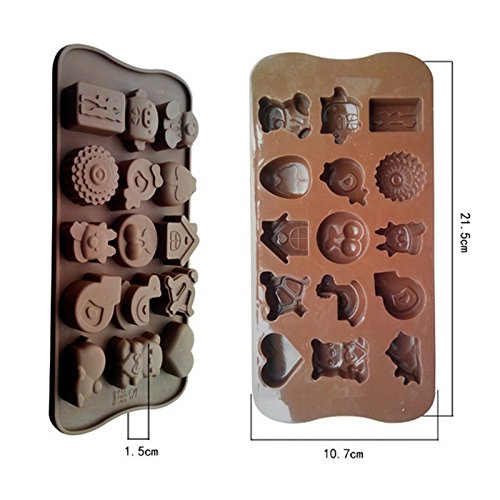%46 OFF! Cherry silicone chocolate mold baking tools