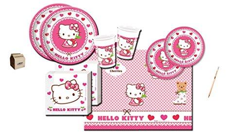Creative Converting IRPot - Kit N 42 Coordinato TAVOLA Hello Kitty