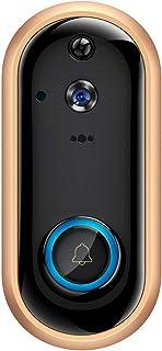 Timbres para puerta Wifi Video Timbre 1080p Cámara De Puerta Inalámbrica Intercomunicador Batería Recargable Cámara Seguridad Ip Visual Door Phone/Camera Only