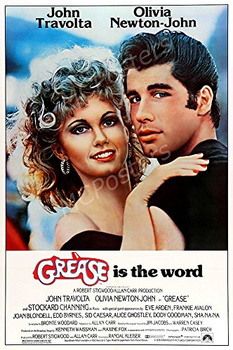 Grease is the Word GLOSSY FINISH Movie Poster