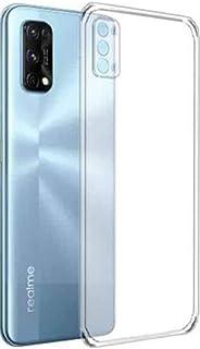 Amagav Shock Proof & Camera Protective Soft Back Case Cover for Oppo Realme 7 Pro (Transparent)