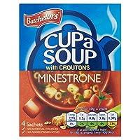 Batchelorsのミネストローネカップスープ4×23.5グラム (x 4) - Batchelors Minestrone Cup A Soup 4 x 23.5g (Pack of 4) [並行輸入品]