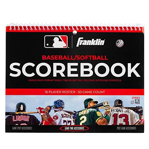 Franklin Sports MLB Baseball and Softball Scorebook
